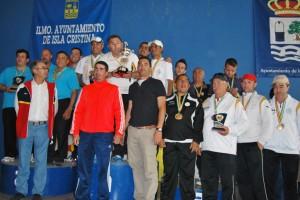 Premios del  Campeonato de España de petanca