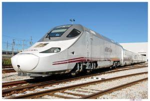 Tren Alvia Huelva-Madrid.