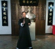 Samuel Kwok, maestro mundial de kung fu.