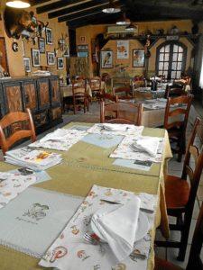 Aspecto del Restaurante Montecruz, situado en Aracena.