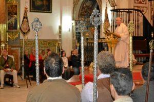 Misa de Romeros de la Hermandad de La Palma. (Carlota Cabello)