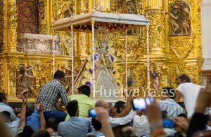 El Santo a la Reja ha tenido lugar a las 3.22 de la madrugada del lunes. (Julián Pérez)