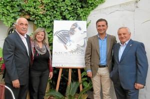 Presentación del cartel del festival flamenco de Moguer.