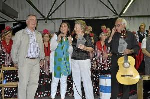 Un momento del acto celebrado en El Lazareto.