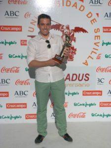 José Antonio Fernández, campeón universitario de tenis.
