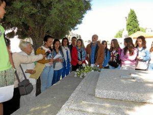 Homenaje a Juan Ramón en Moguer.