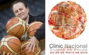 Aito García en el Clinic de Palos.