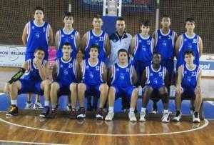 Equipo infantil A del CD Huelva Baloncesto