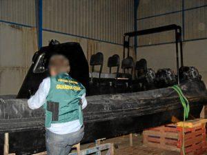 La Guardia Civil llamó 'Herradura' a esta operación. (Foto: página3huelva)