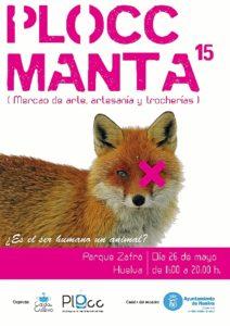 Detalle del cartel anunciador del Plocc Manta.