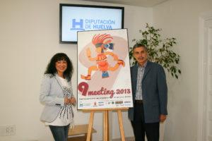 Presentación del cartel del IX Meeting Iberoamericano de atletismo.