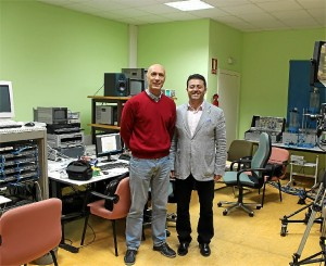 Andrés Manuel Mejías Borrero y José Manuel Andújar.