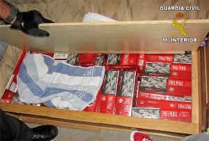 Tabaco de contrabando.