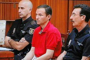 José Bretón durante una sesión del juicio. (Madero Cubero)