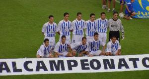 Once titular del Recreativo de Huelva en la final de la Copa del Rey de 2003.