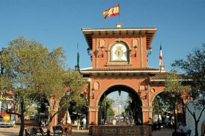 Arco del Chaparral.