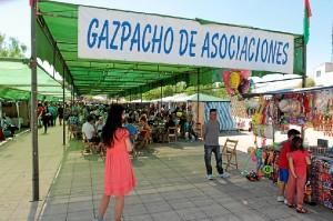 El Gazpacho ha tenido unos dos mil visitantes. (José Carlos Sánchez-Multimagenestudio)