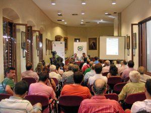 Reunión de Muñoz con los autónomos en la Cuenca Minera.