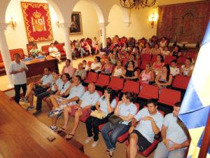 Presentación del Campamento de verano en Moguer.