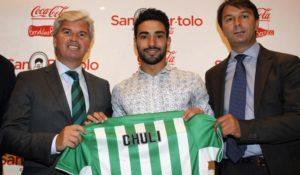 Chuli, nuevo jugador del Betis.