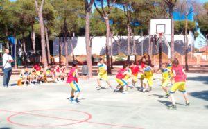 Escuela Deportiva de baloncesto.