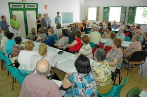 Clausura del taller de la memoria en Huelva.