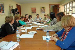 Reunión del Consejo Local de la Mujer.