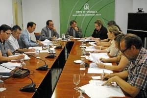 Reunión del Consejo Provincial de Consumo.