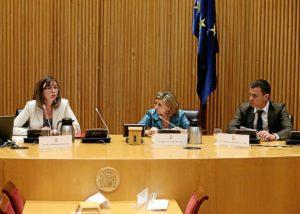María José Rodríguez interviene en el debate sobre la nueva ley de costas.