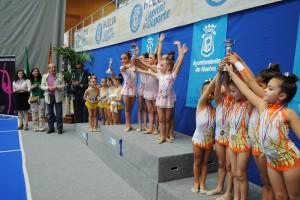 Copa Andalucía de gimnasia rítmica.