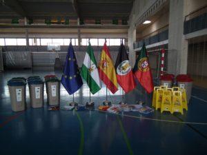 Equipamiento deportivo en Ayamonte.