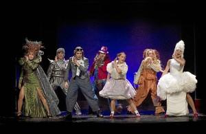 Imagen del musical 'El maravilloso Mago de Oz'