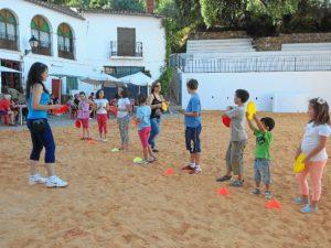 Actividades infantiles con motivo de las fiestas de San Juan de Linares.