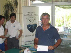 Ganador del Torneo de golf de junio.