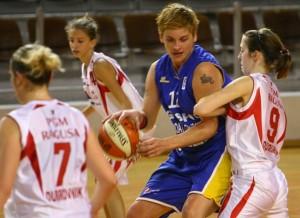 Ivona Bogoje, nueva jugadora del CB Conquero.