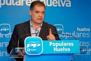 Juan Carlos Lagares en rueda de prensa. (Julián Pérez)