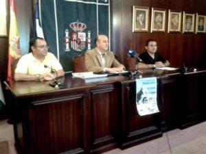 Juan Manuel González, Juan Fernández y Francisco Forque.