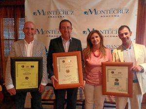 El restaurante aracenense ha recibido este importante galardón.