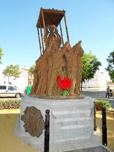 El sábado se inaugura el monumento a la Virgen de Montemayor en Moguer.
