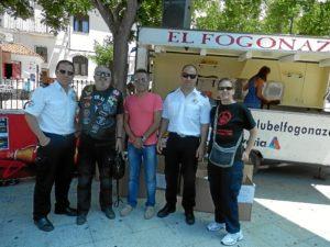 Moteros de El Fogonazo.