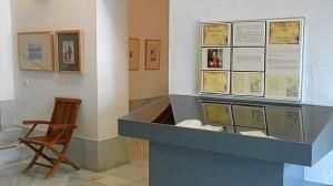 Exposición del libro del mes.