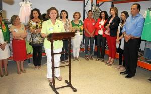 Acto de inauguración en San Juan del Puerto.