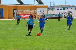 Imagen de uno de los choques del torneo.