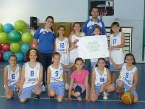 Club Baloncesto Conquero benjamín.