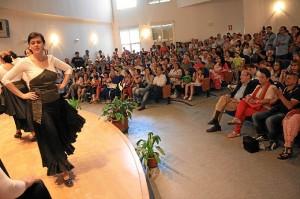 Clausura de Cultura en los Barrios en La Morana.