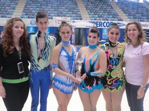 Final de la Copa Andalucía de gimnasia rítmica.
