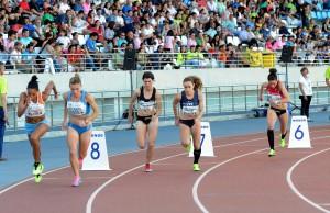 800 femenino del Meeting Iberoamericano.