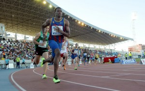 Meeting Iberoamericano de atletismo 2013.