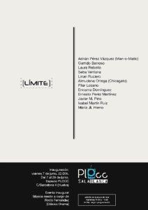 Cartel de la exposición colectiva.