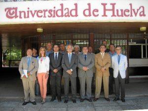 Miembros del Consejo Social de la UHU.